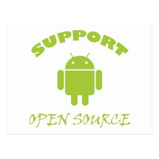 Robot de Open Source de la ayuda Tarjetas Postales