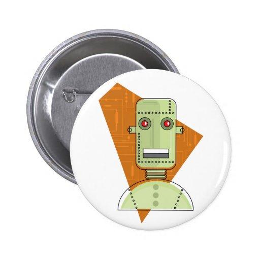 Robot de Steampunk Pin