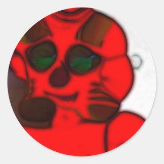 Robot deformado DJ.SK sin Etiqueta Redonda