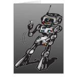 Robot del baile felicitaciones