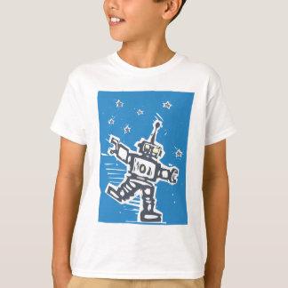 Robot del baile playera