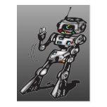 Robot del baile postales