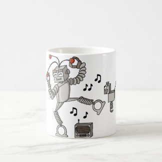 Robot del baile taza