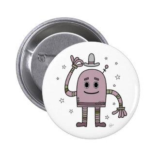 Robot del buen día - botón pin
