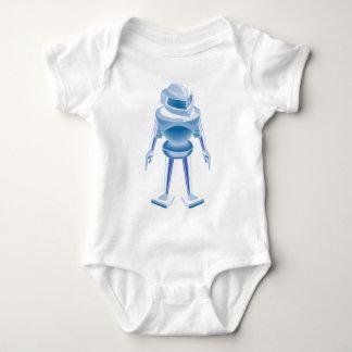 Robot del cromo body para bebé