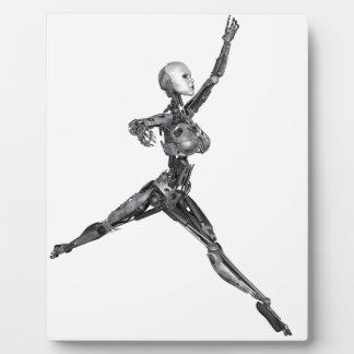 Robot del Cyborg en la forma de Jete Placas