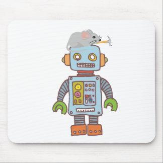 Robot del edificio del ratón alfombrillas de ratones