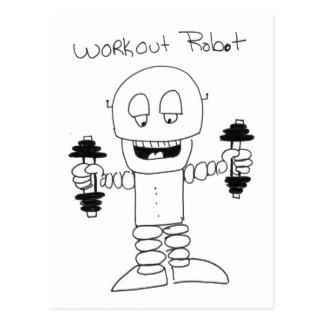 Robot del entrenamiento postal