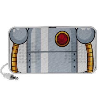 Robot del juguete mini altavoz
