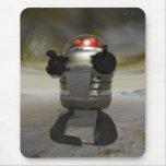 Robot del juguete en un planeta extranjero Mousepa Tapete De Raton