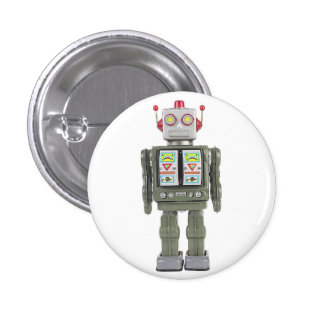 Robot del juguete pins