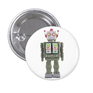 Robot del juguete pin redondo 2,5 cm