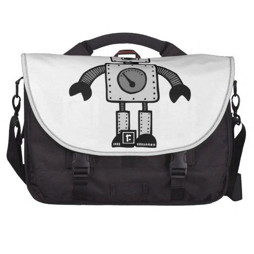 Robot del niño bolsas para portátil