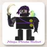 Robot del pirata de Ninja Posavasos