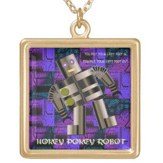 Robot del Pokey de Hokey Colgante Cuadrado