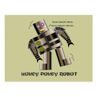 Robot del Pokey de Hokey Tarjeta Postal