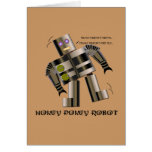 Robot del Pokey de Hokey Tarjetas