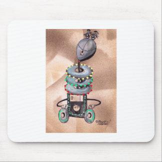 Robot del rodillo del ajuste del día de fiesta mousepads