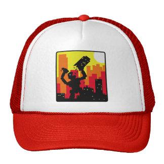 Robot Destroy Trucker Hat