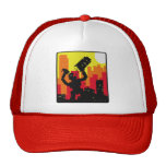 Robot Destroy Trucker Hats