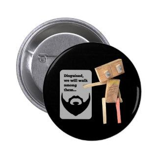Robot disguise button