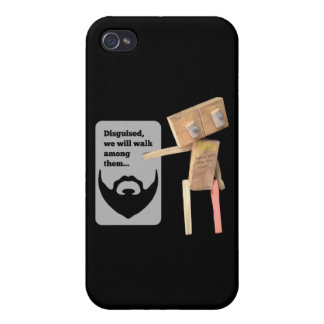 Robot disguise iPhone 4/4S cases