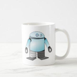 Robot divertido del dibujo animado taza clásica
