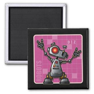 Robot Diz magnet