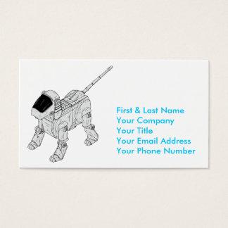 Robot Dog Business Card