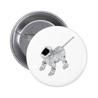 Robot Dog Pin