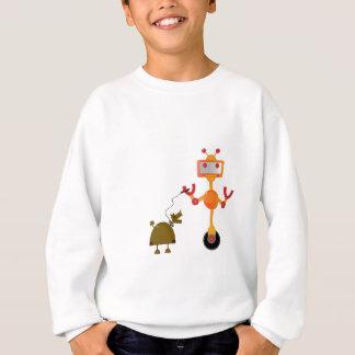 Robot Dog Walker Sweatshirt