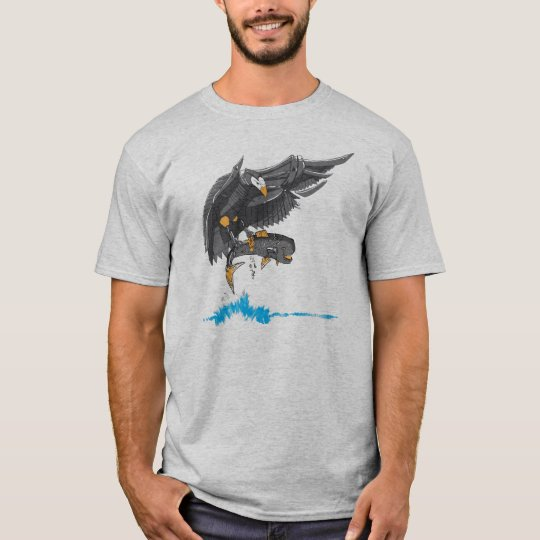 Robot Eagle is hungry T-Shirt