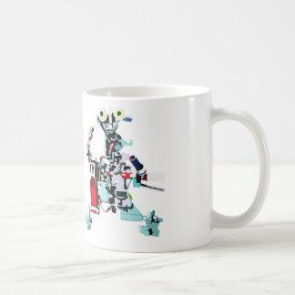 Robot Electro Coffee Mug