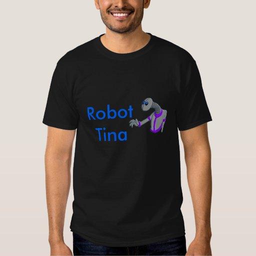 ROBOT ELLIE, Robot Tina Shirts