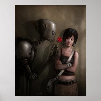 Robot en amor impresiones