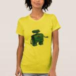 Robot encantado camisetas