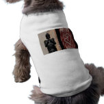 Robot enérgico camisetas de perro