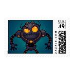 Robot enojado sellos