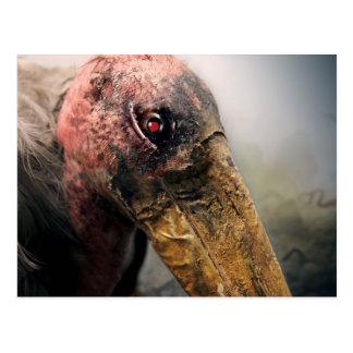Robot Evil Vulture Postcard.
