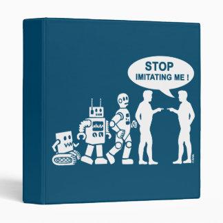 Robot evolution vinyl binder
