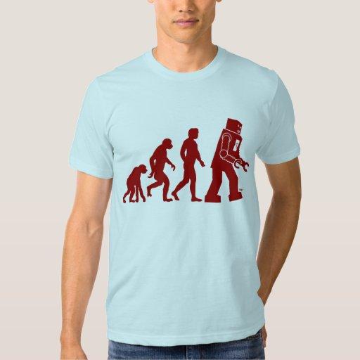 Robot Evolution - from man into robots Tee Shirt