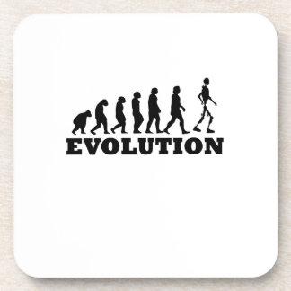 Robot Evolution Funny Gift Beverage Coaster