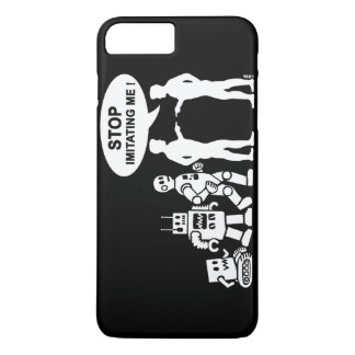 robot evolution iPhone 7 plus case