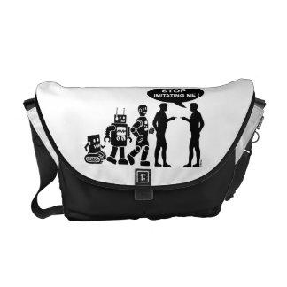 Robot evolution messenger bag