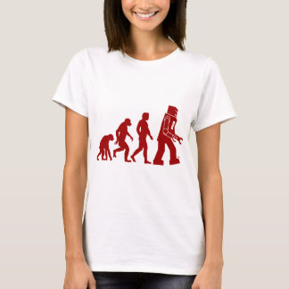 Robot Evolution of man into robot T-Shirt