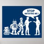 Robot evolution poster