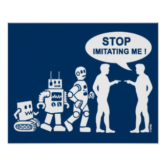 Robot evolution print