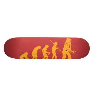 Robot Evolution Sheldon Cooper Big Bang Theory Skateboard Deck