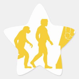 Robot Evolution Star Sticker