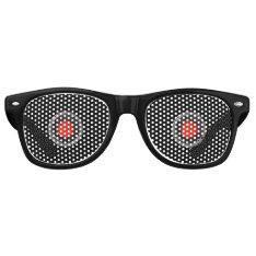 Robot Eyes Retro Sunglasses at Zazzle